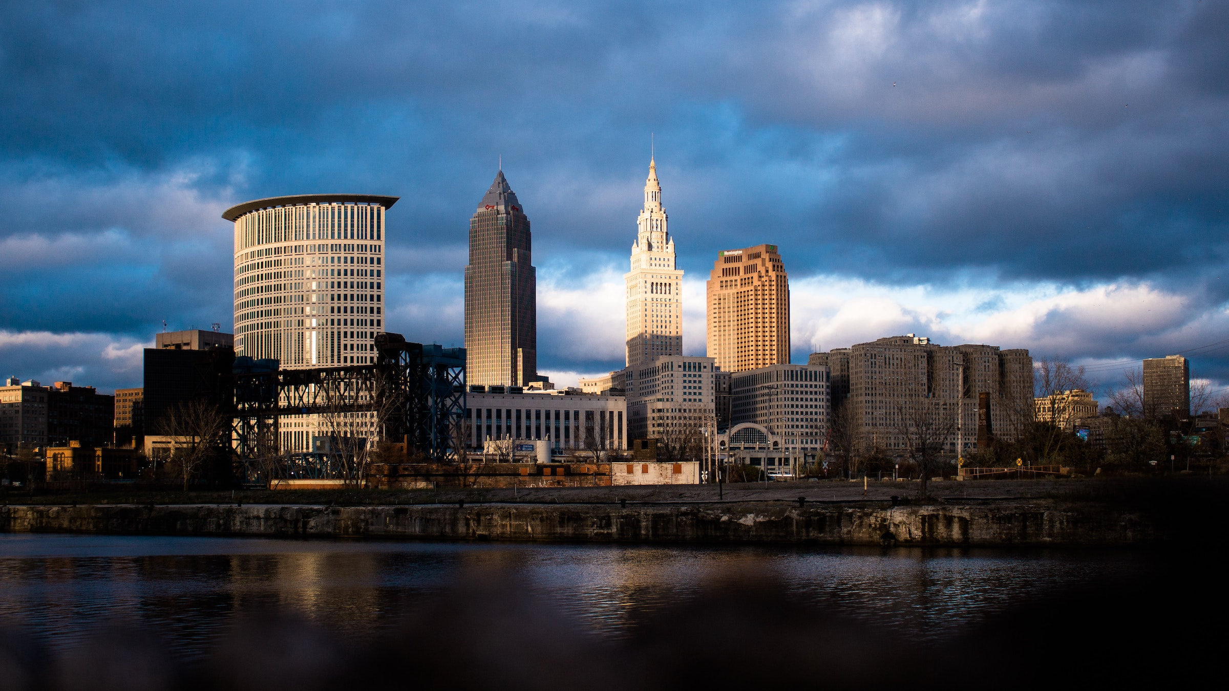 Photo of the Cleveland skyline